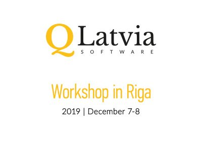 The workshop at the University of Latvia
