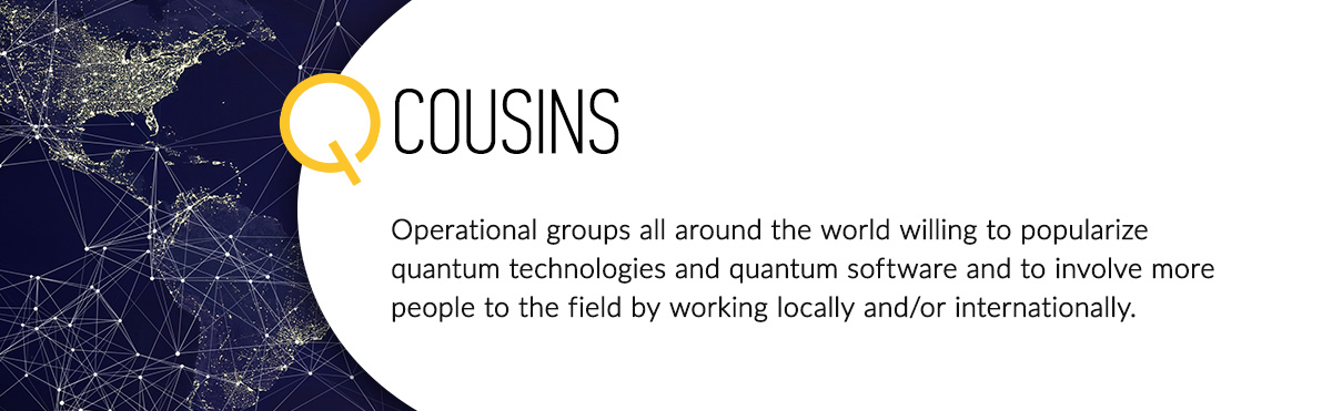 Description of what a QCousin is. This way people can know what we are part of.