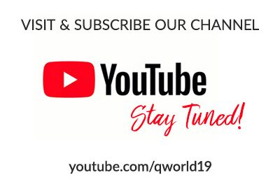Official QWorld's YouTube channel is open!