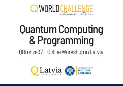 Online workshop in Latvia with QTalks