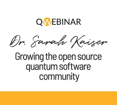 Our 6th QWebinar with Dr. Sarah Kaiser